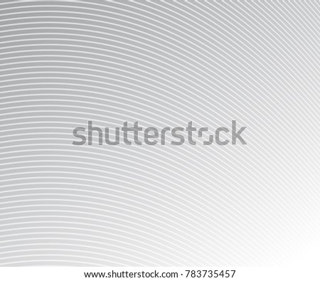 Wave Stripe Background - simple texture for your design. EPS10 vector  #783735457