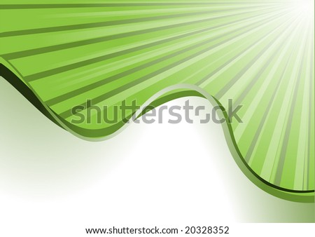 wave vector - stock vector