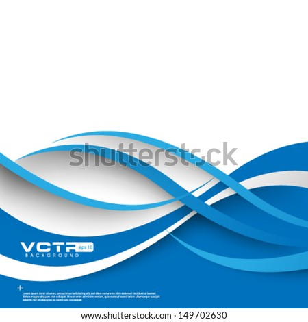 Waves and Lines Background