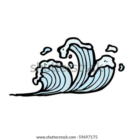 logo umno vector. stock vector : waves cartoon