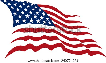 us flags vectors free vector art at vecteezy rh vecteezy com waving american flag vector file waving american flag vector format