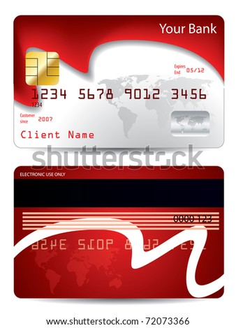 credit cards designs. world credit card design