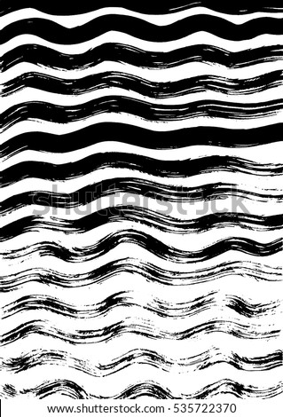 wavy ink stripes texture