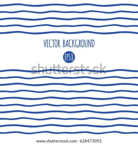 wavy sailor stripes  streaks