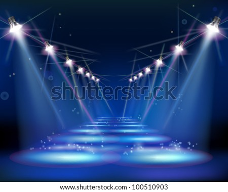 Way at night vector illustration 100510903 shutterstock for 1234 get on the dance floor video download