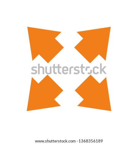 Way direction arrow, Wind direction Icon, road direction, road direction icon, vector illustration