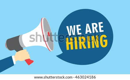 we are hiring vacancy open