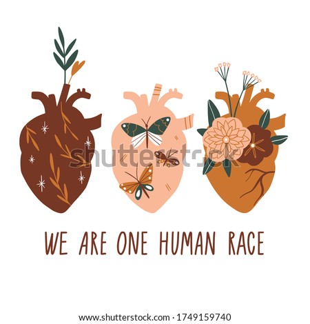 we are one human race equal
