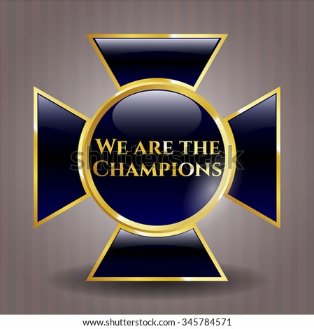 We are the Champions shiny emblem