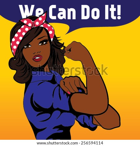we can do it iconic woman's