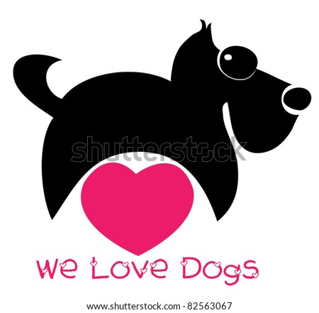 we love dogs