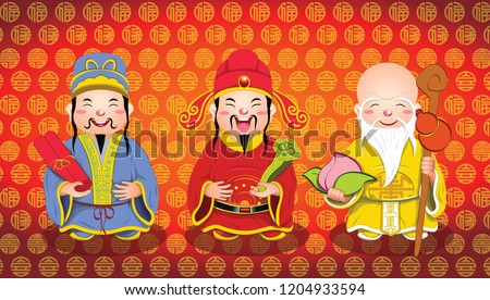 Wealth, Health & Happiness Gods
