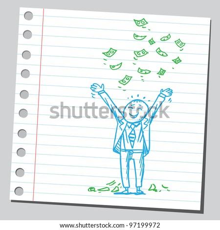 Wealthy businessman