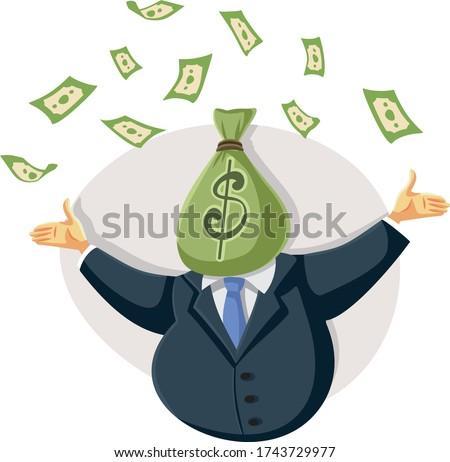 wealthy rich  businessman