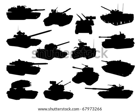 weapon collection  battle tanks