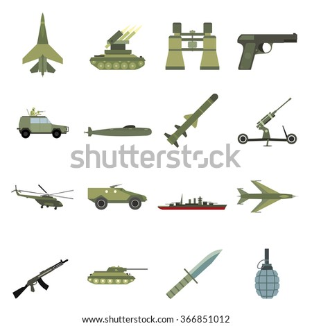 weapon icons weapon icons set