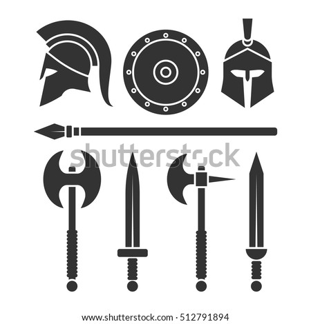 weapons and armor of the