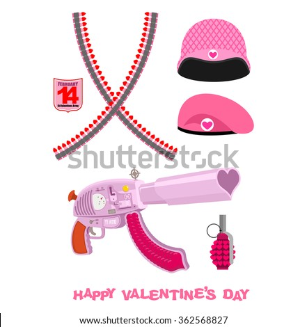 weapons cupid set military