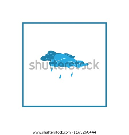 wear rain sign weather icon in