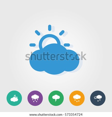 weather cloud icons