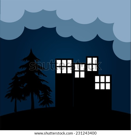Weather design over landscape background,vector illustration