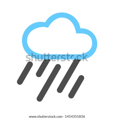 weather icon. flat illustration of weather. vector icon. weather sign symbol