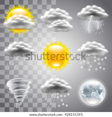 weather icons detailed photo