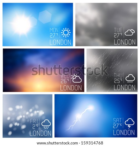 weather intereface boxes