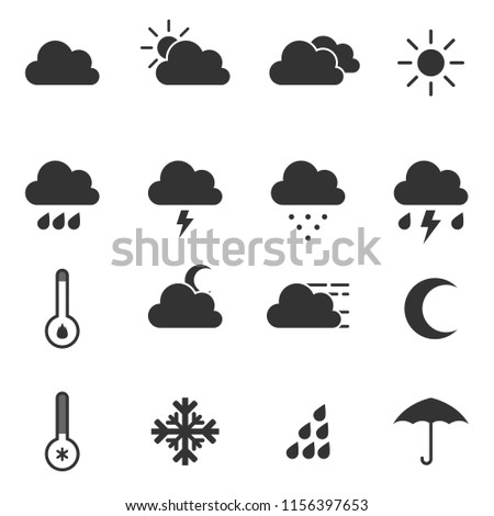 Weather Simple Icons