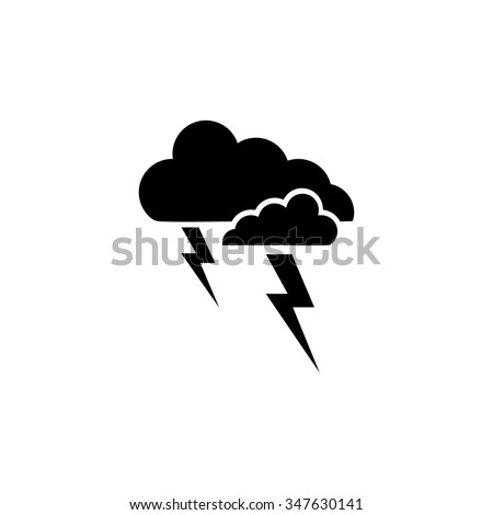 weather storm button