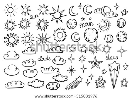 Weather Sketch Icons - Download Free Vectors, Clipart