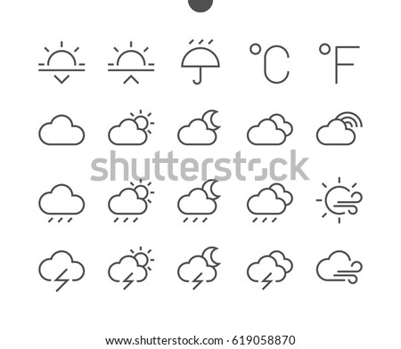 weather ui pixel perfect well
