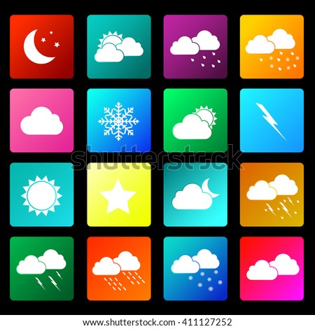 weather weather icons weather
