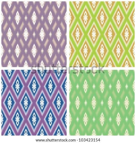 Weave pattern in various colors
