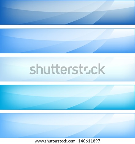 Web banners set
