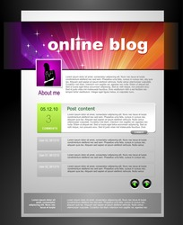 Web Blog Template
