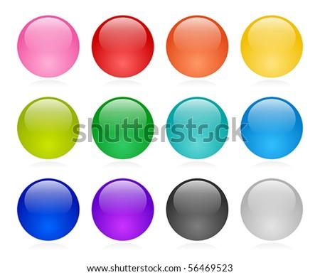 Web button set