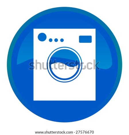 Web button - washing machine
