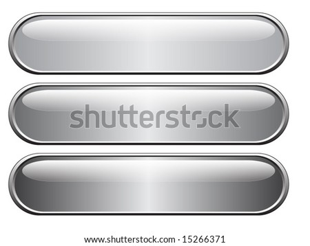 web buttons - stock vector