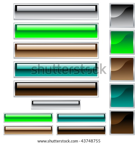 stock-vector-web-buttons-scaleable-shiny-rectangles-and-squares-in-assorted-colors-isolated-on-white-raster-43748755.jpg