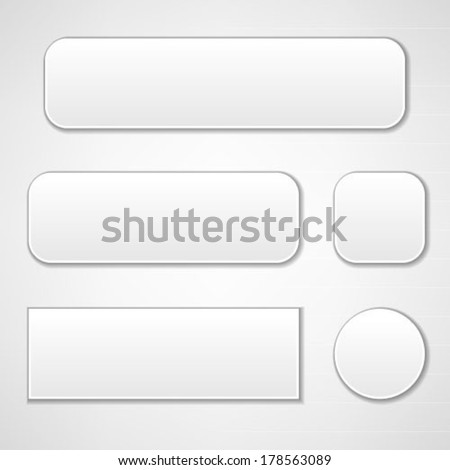 web buttons set #178563089
