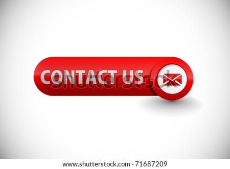 web contact icon design element.