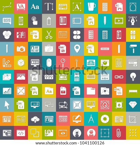 web design icons  graphic