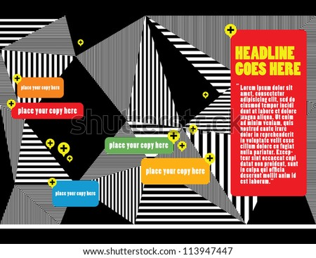 Web design/ Vector Illustration/ Layout Design/ Background/ Wallpaper /Abstract