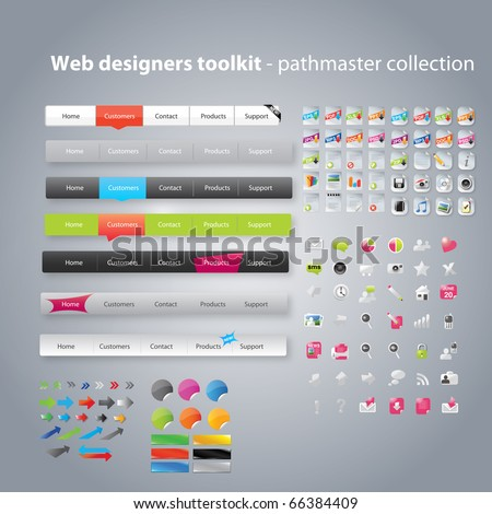Web designers toolkit - pathfinder collection