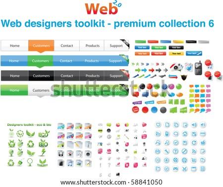 Web designers toolkit - premium collection 6