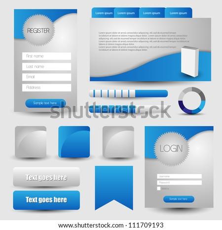 web designing element