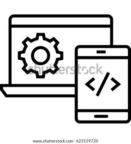 Web Develop Vector Icon