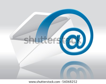 Web E-Mail (Envelope With Space For Your Text)