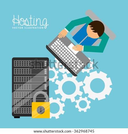 web hosting design  #362968745